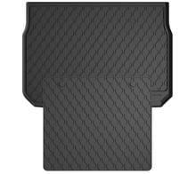 Резиновые коврики в багажник Gledring для Peugeot 2008 (mkI) 2013-2019 (багажник с защитой)