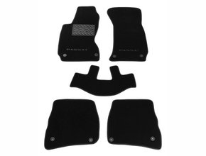 Двухслойные коврики Sotra Custom Classic 7mm Black для Volkswagen Passat (B5) 1996-2000