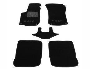 Двухслойные коврики Sotra Custom Classic 7mm Black для Volkswagen Golf (mkIV) 1997-2003