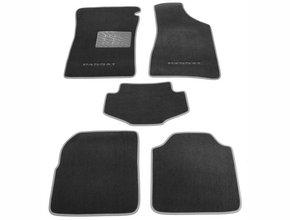 Двухслойные коврики Sotra Custom Classic 7mm Grey для Volkswagen Passat (B4) 1993-1996