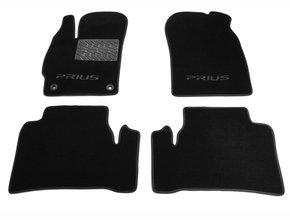 Двухслойные коврики Sotra Custom Classic 7mm Black для Toyota Prius (mkIII) 2012-2015