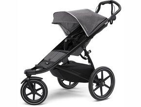 Детская коляска Thule Urban Glide 2 (Grey Melange on Black)