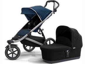 Детская коляска с люлькой Thule Urban Glide 2 (Majolica Blue)