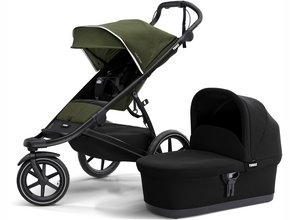 Детская коляска с люлькой Thule Urban Glide 2 (Cypress Green)