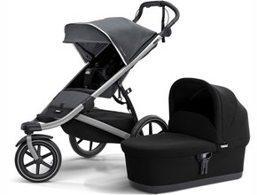 Детская коляска с люлькой Thule Urban Glide 2 (Dark Shadow)