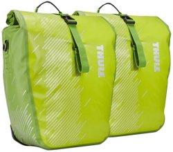 Велосипедные сумки Thule Shield Pannier Large (Chartreuse) - Фото 1