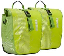 Велосипедные сумки Thule Shield Pannier Small (Chartreuse) - Фото 1