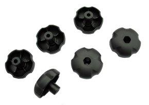 Ручки пластиковые 8 мм Peruzzo 916 Six Plastic Knobs