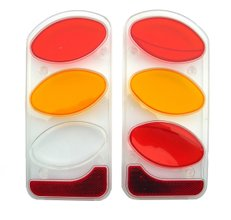 Пластиковые накладки на фонари Peruzzo 949 Two Light Boxes Left and Right - Фото 1