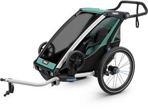 Детская коляска Thule Chariot Lite 1 (Blue Grass-Black)