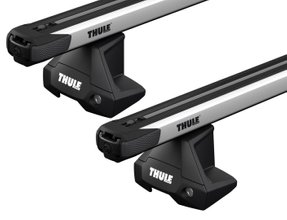Багажник на гладкую крышу Thule Slidebar Evo для Jaguar I-Pace (mkI) 2018→