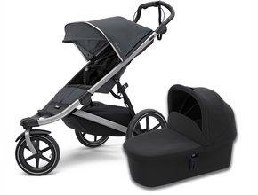 Детская коляска с люлькой Thule Urban Glide2 (Dark Shadow)