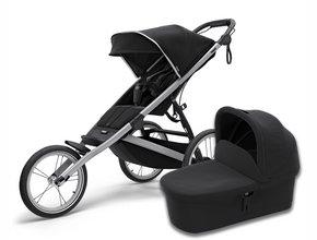 Детская коляска с люлькой Thule Glide 2 (Jet Black)