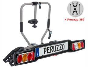Велокрепление  с креплением для лыж Peruzzo 668 Siena 2 + 389 Ski & Snowboard Carrier
