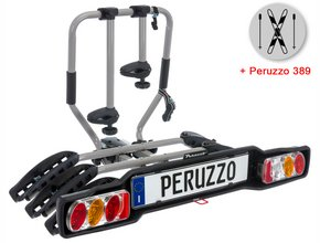Велокрепление  с креплением для лыж Peruzzo 668-3 Siena 3 + 389 Ski & Snowboard Carrier