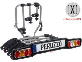 Велокрепление  с креплением для лыж Peruzzo 668-4 Siena 4 + 389 Ski & Snowboard Carrier
