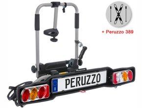 Велокрепление  с креплением для лыж Peruzzo 706 Parma 2 + 389 Ski & Snowboard Carrier