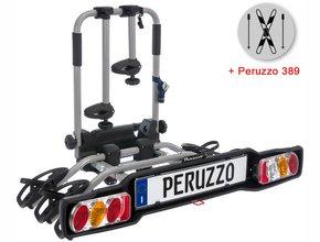 Велокрепление  с креплением для лыж Peruzzo 706-3 Parma 3 + 389 Ski & Snowboard Carrier