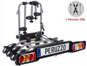Велокрепление  с креплением для лыж Peruzzo 706-4 Parma 4 + 389 Ski & Snowboard Carrier