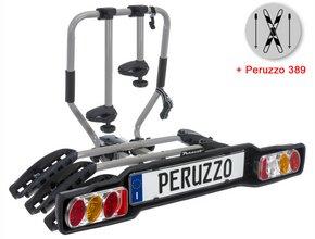 Велокрепление  с креплением для лыж Peruzzo 669-3 Siena Fix 3 + 389 Ski & Snowboard Carrier