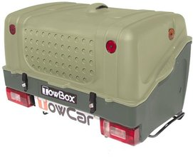 Бокс на фаркоп TowCar TowBox V1 Green