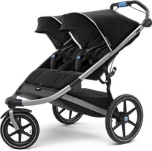 Детская коляска Thule Urban Glide Double 2 (Jet Black)