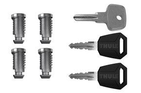 К-т ключей с личинками (4шт) Thule One-Key System 4504