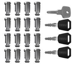 К-т ключей с личинками (16шт) Thule One-Key System 4516