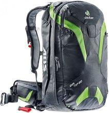 Горнолыжный рюкзак Deuter OnTop ABS 20 (Black/Kiwi)