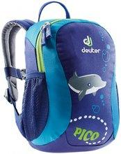 Детский рюкзак Deuter Pico (Indigo/Turquoise)
