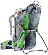 Детский рюкзак-переноска Deuter Kid Comfort Air (Graphite/Spring)