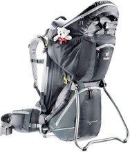 Детский рюкзак-переноска Deuter Kid Comfort III (Black/Granite)