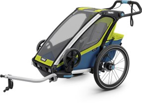 Детская коляска Thule Chariot Sport 1 (Chartreuse-Mykonos)