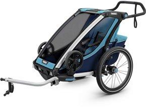 Детская коляска Thule Chariot Cross 1 (Blue-Poseidon)
