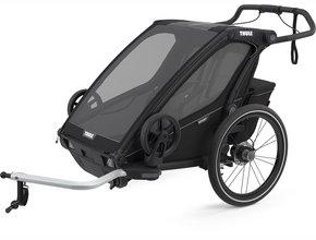 Детская коляска Thule Chariot Sport 2 (Black on Black)