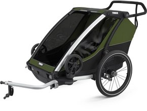 Детская коляска Thule Chariot Cab 2 (Cypress Green)