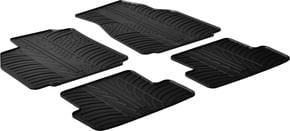 Резиновые коврики Gledring для Renault Megane (mkII) 2002-2008 - Фото 1