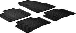 Резиновые коврики Gledring для Renault Scenic (mkII) 2003-2009 - Фото 1