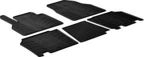 Резиновые коврики Gledring для Renault Kangoo (mkII)(1-2 ряд) 2008→; Mercedes-Benz Citan (W415)(1-2 ряд) 2012→ - Фото 1