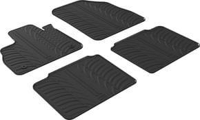 Резиновые коврики Gledring для Renault Espace (mkV) 2015→ - Фото 1