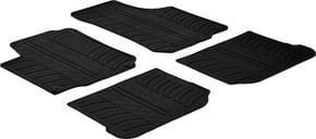 Резиновые коврики Gledring для Skoda Octavia (mkI); Volkswagen Golf (mkIV) / Bora (mkIV) / Beetle (mkI); Seat Leon (mkI) / Toledo (mkII) 1997-2010 - Фото 1
