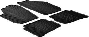 Резиновые коврики Gledring для Volkswagen Polo (mkIV); Seat Cordoba (mkII) / Ibiza (mkIII) 2003-2008 - Фото 1