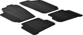 Резиновые коврики Gledring для Volkswagen Polo (mkV) 2009-2017 - Фото 1