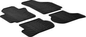 Резиновые коврики Gledring для Seat Altea (mkI) 2004-2006 / Toledo (mkIII) 2004-2009; Volkswagen Golf Plus (mkV-mkVI) 2005-2014 - Фото 1