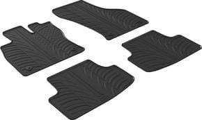 Резиновые коврики Gledring для Volkswagen Golf (mkVII-mkVIII)(5-дв. хетчбэк) 2012→; Seat Leon (mkIII) 2013-2020 - Фото 1