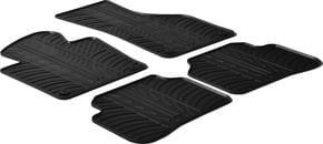 Резиновые коврики Gledring для Volkswagen Passat (B7) 2010-2015 / CC 2010-2014 - Фото 1