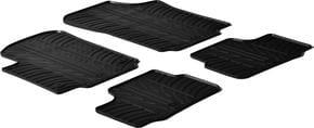 Резиновые коврики Gledring для Volkswagen Up! (mkI); Seat Mii (mkI); Skoda Citigo (mkI) 2011→ - Фото 1