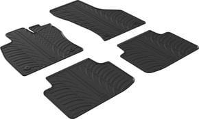 Резиновые коврики Gledring для Volkswagen Passat (B8) 2014→ АКПП - Фото 1