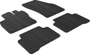 Резиновые коврики Gledring для Volkswagen Touran (mkII)  2015→ МКПП - Фото 1