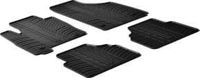 Резиновые коврики Gledring для Opel Meriva (mkI)(A) 2003-2010 - Фото 1
